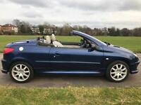 2004 PEUGEOT 206 ALLURE 2LTR COUPE CONVERTIBLE