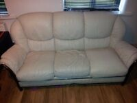 lether 3 seater sofa. FREE!!!