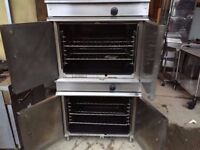 GAS COMMERCIAL DOUBLE OVEN MACHINE CATERING RESTAURANT KITCHEN CAFE DINER SHOP PUB BAR TAKEAWAY