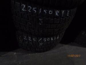 225/50r16 2 only used cooper snow tires