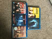 Blue ray blu dvds