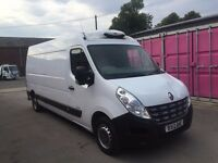 RENAULT MASTER LWB REFRIDGERATED VAN 2012REG ,NO VAT FOR SALE