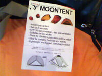 FrostFire Orange 2 Man Moon Tent , Never Used