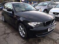 BMW 1 Series 2.0 116d Sport 3dr£6,495 p/x welcome FREE WARRANTY, NEW MOT