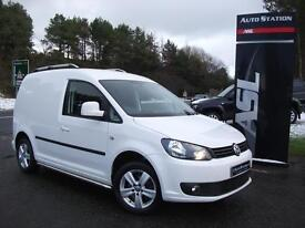 VOLKSWAGEN CADDY 2.0 TDI 140PS Highline Van (white) 2014