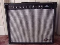 1987 Marlin ML50RC 50W Electric Guitar Amp with Chorus & Reverb ( combo amplifier )