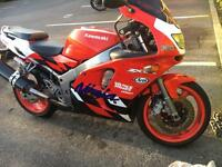 Zx6r f-3 for sale or swap mint condition
