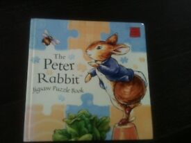 Peter Rabbit - Jigsaw book. Excellent condition