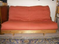 Two-Seater Futon Sofabed