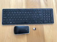 Dell/Logitech Wireless Keyboard (KM714), Mouse (WM514) and USB Dongle Receiver