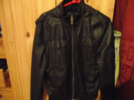 Bench Faux Leather jacket excellent condition medium