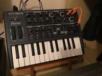 Genuine analog synthesiser, not virtual emulation