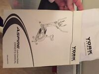 York Aspire Cycle Cross Trainer 2 in 1