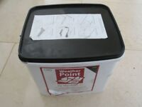 New, unopened 15Kg Black Marshalls Weather Point 365. It has never been used