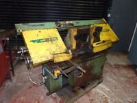 QUALTERS AND SMITH SAWMASTER 260mm DIA HORIZONTAL BANDSAW
