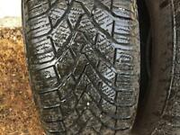 Four (4) Winter Tyres 195/65 R15 T
