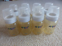 22 Avent bottles - 10 x 260ml classic bottles and 12 x 125ml classic bottles