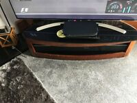JUAL CURVED TV UNIT WITH BRACKET FOR TV