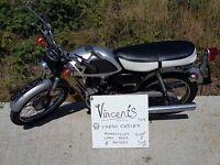 Yamaha YL100 Classic Motorbike