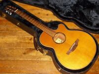 Takamine ETN30C electro acoustic made in Japan 2010 Limited Edition wide nut for fingerstyle