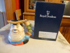 royal doulton desperate dan jug boxed