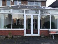 UPVC Victorian double glazed conservatory