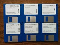 Around 50 Vintage Computer Software Floppy Discs Windows Lotus 1-2-3 Autoroute Express Screen Savers