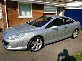 Peugeot 407 Coupe GT 2.7hdi 'LOW MILES' STUNNING CAR.
