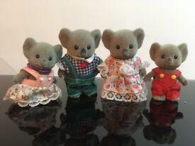 Sylvanian Koala Family