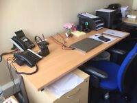 Private office space to share