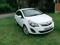 2014 vauxhall corsa excite ac ecoflex 998cc ,full service history , only £30 pound tax a year