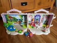 Playmobil princess birthday party carry along set