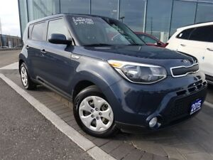 2015 Kia Soul BLUETOOTH, AIR CONDITIONING, LOW KM'S AND MORE!