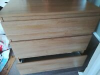 Free 3 drawer chest