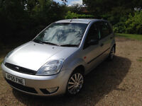 SUPERB 2006 FORD FIESTA STYLE 5 DOOR HATCHBACK, . 1242CC ENGINE, LOW MILAGE, LONG MOT.
