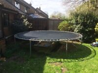 Free 13 foot Trampoline, buyer to dismantle and collect