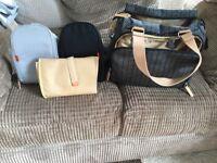 Pacca Pod Herringbone Changing Bag