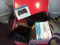 Wii U with Console and Games