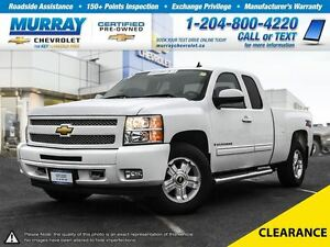 2009 Chevrolet Silverado 1500 4WD Ext Cab 134.0 WT *Accident Fre