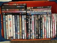 2 boxes of DVD ideal car boot sale