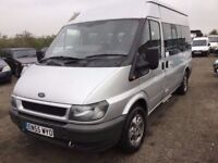 2006 FORD TRANSIT MEDIUM SEMI HIGHTOP ONE OWNER £22000 POUNDS OF SERVICE HISTORY RARE TWINSIDE DOORS