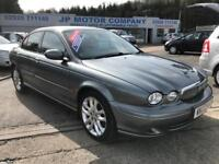 2002 JAGUAR X TYPE SPORT GREY FULL LEATHER INTERIOR FULL SERVICE HISTORY