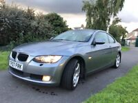 2007 GREY COUPE BMW 320i *LEATHER*