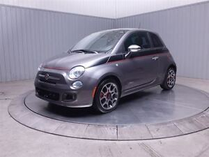 2012 Fiat 500 SPORT A/C TOIT MAGS