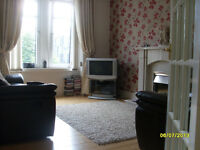 Flatemate, to share my central flat in Dunfermline, non smoking female preferred, who likes cats
