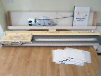 Brother KH 260 9mm Chunky Knitting Machine - Clean and Working