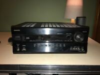 Onkyo AV RECEIVER TX-SR608. 160w,6 HDMI inputs,THX,RGB video input. Pure audio mode.