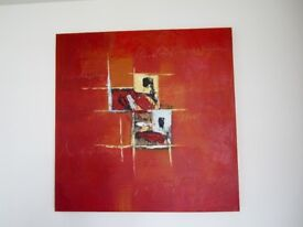 *****~*** Beautiful Square Painting in excellent condition ***~*****