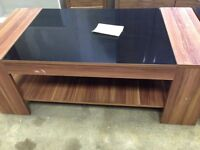 Coffee table in black and walnut!!!Table!! Delivery available!!