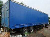 curtainside trailer 12.5metres long